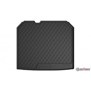 Gumi korito za prtljažnik Audi Q3 (zgornje dno, s kompletom - z mrežo)
