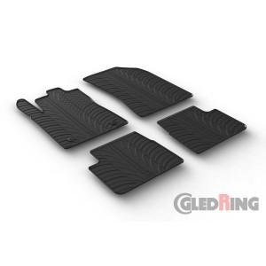 Gumi tepihi za Citroen C3/DS3 (5 vrat)