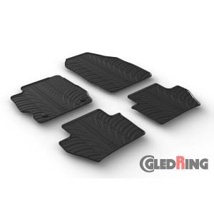 Gumi tepihi za Ford Ka+ (ročni menjalnik, 5 vrat)