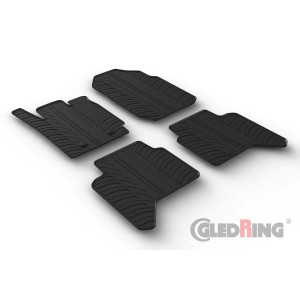 Gumi tepihi za Ford FORD RANGER DOUBLE CABIN (automatic)