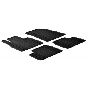 Gumi tepihi za Nissan Micra ( 5 vrat)