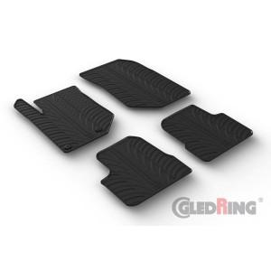Gumi tepihi za Opel Corsa F (5 vrat, manual)