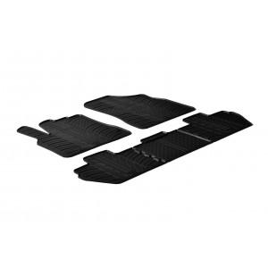 Gumi tepihi za Peugeot Rifter (sovoznikov sedež brez preklopne funkcije/round fixing)