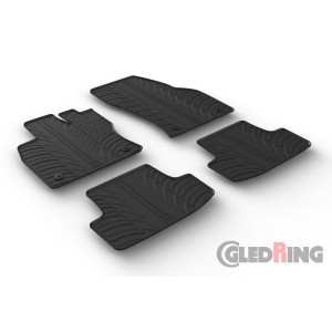 Gumi tepihi za Volkswagen T-Roc (manual&automatic)