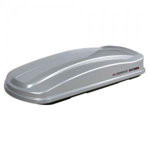 Strešni kovček NORDRIVE 530l siv