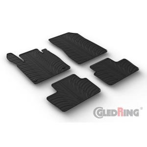 Gumi tepihi za Nissan Juke II (ročni & avtomatski)