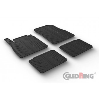Gumi tepihi za Nissan Micra (5 vrat)