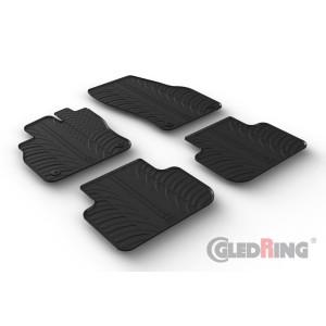 Gumi tepihi za Audi Q3 (za avtomatični in ročni menjalnik)