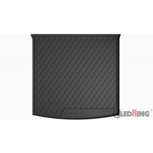 Gumi korito za prtljažnik SKODA KODIAQ (5 SEDEŽEV / zgornje dno, z rezervno gumo)