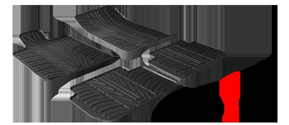 Tipski gumijasti avto tepihi